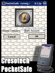 Cresotech PocketSafe Screenshot 1