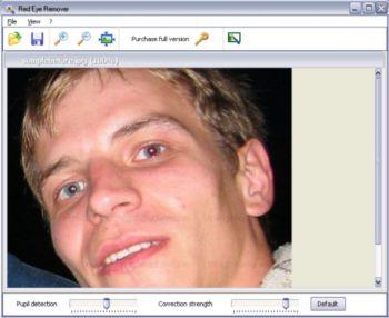 Red Eye Remover Screenshot 1