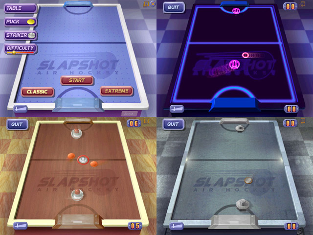 SlapShot Air Hockey Screenshot