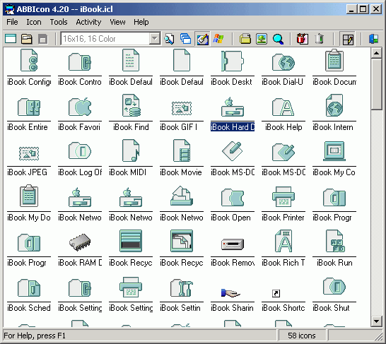 ABBIcon Screenshot