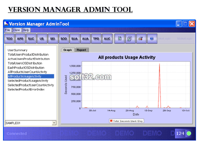 Version Manager Screenshot