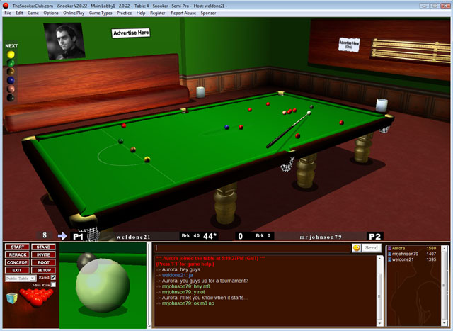 iSnooker Screenshot 2