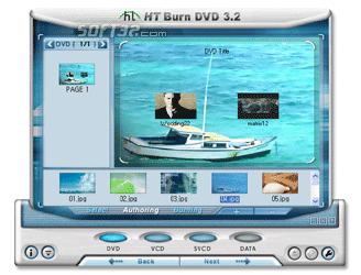 honestech Burn DVD Screenshot 2
