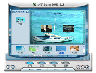 honestech Burn DVD Screenshot