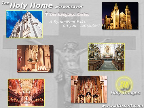 HolyHome Screensaver Screenshot 1