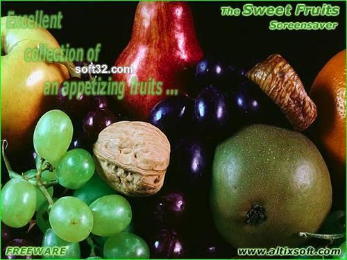 Sweet Fruits Screensaver FREE Screenshot 3