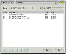 Audiolib MP3 CD Burner Screenshot