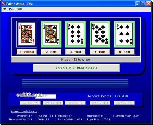Poker Mania Screenshot 2