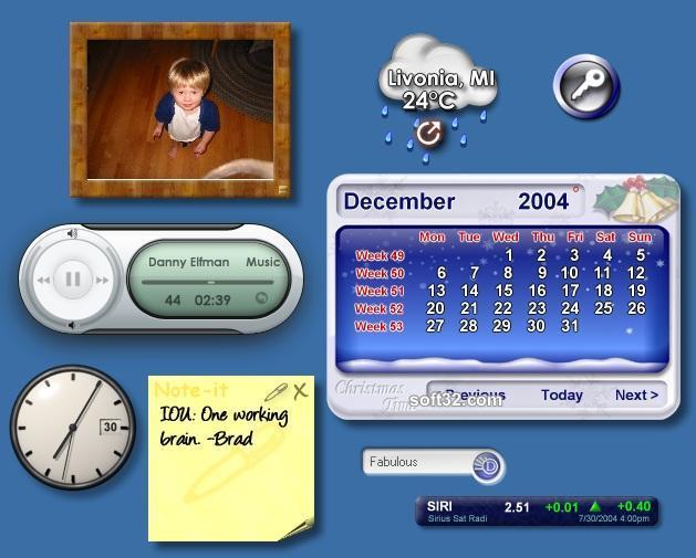 DesktopX Screenshot 2