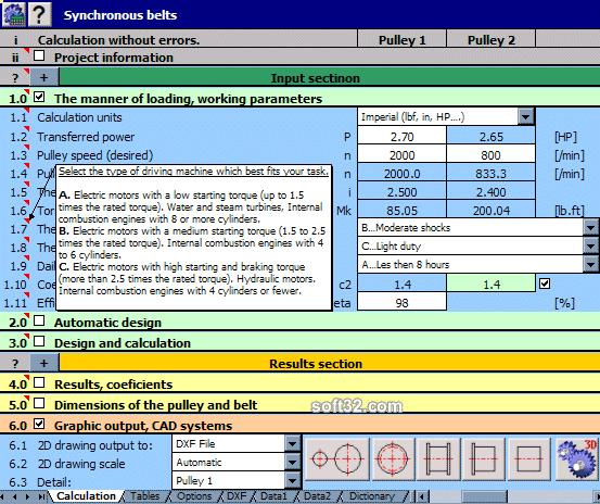 MITCalc Screenshot 2