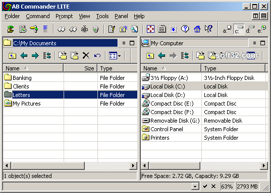 AB Commander LITE Screenshot 2