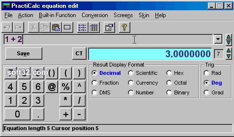 PractiCalc Screenshot 2