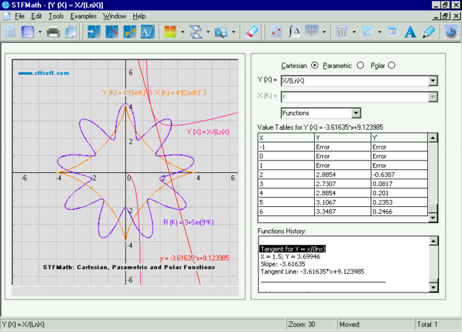STFMath Screenshot 1