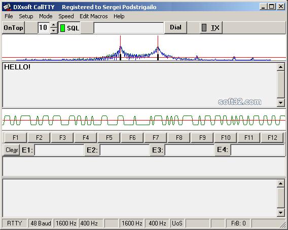 CallTTY TDD software Screenshot 2