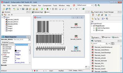 Barcode VCL Component Screenshot