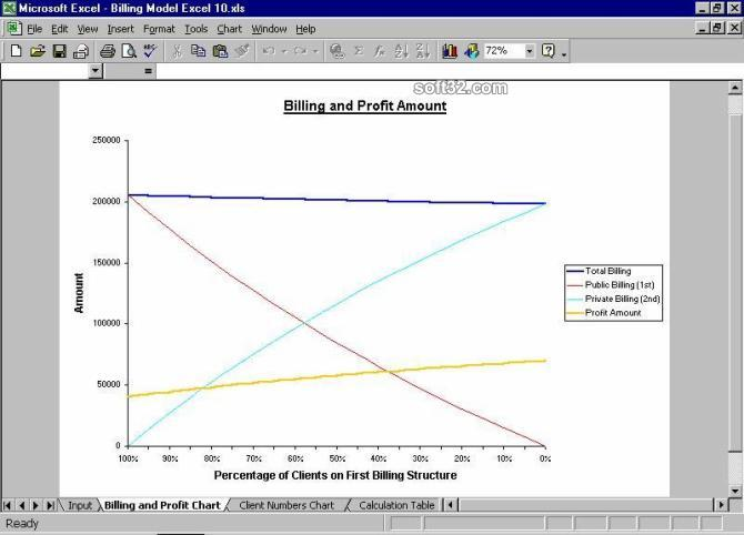 Billing Model Excel Screenshot 2