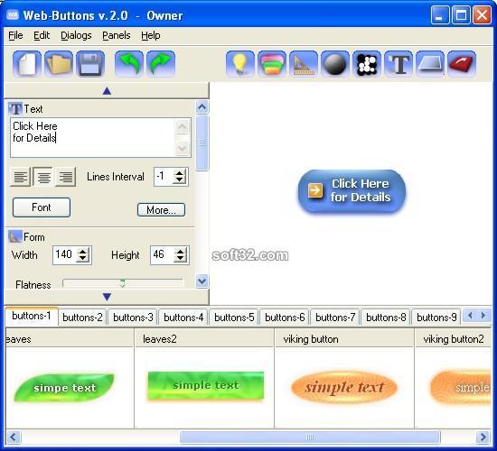Web Buttons Screenshot 3