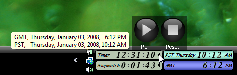 ZoneTick World Time Zone Clock Screenshot 2
