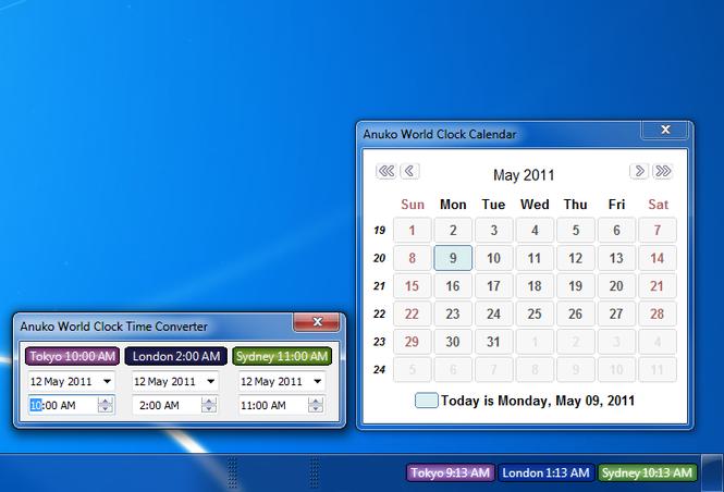 ZoneTick World Time Zone Clock Screenshot