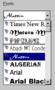Font List & Combo ActiveX 1