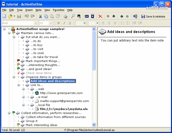 ActionOutline Screenshot 4