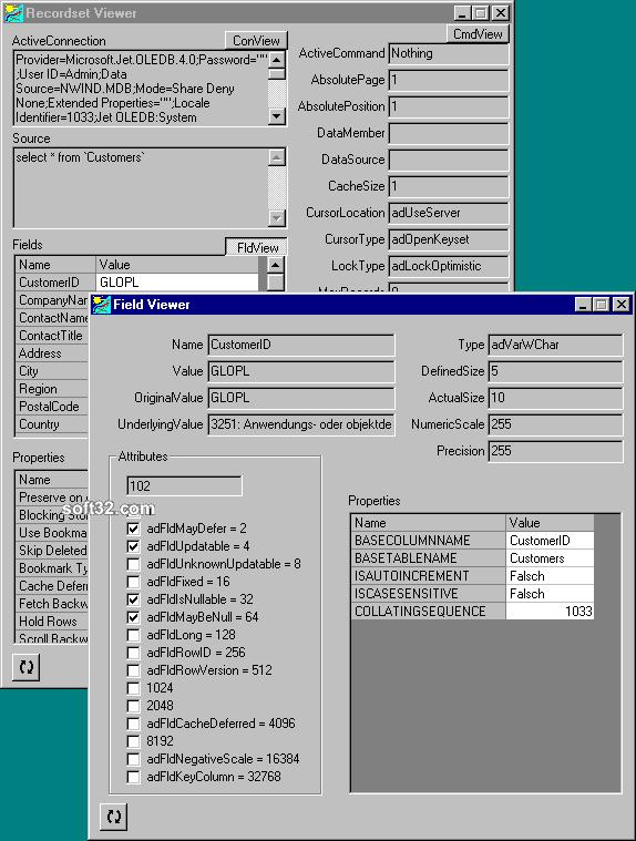 blueshell ADO Survey Kit Screenshot 3