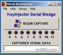 Plexis KeyInjector Serial Wedge Software Screenshot 3