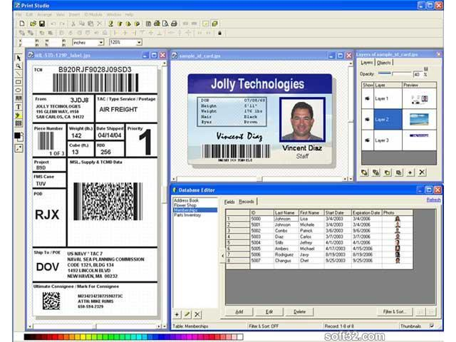 Label Flow - Barcode Software Screenshot 3