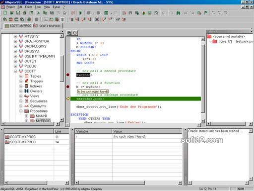 AlligatorSQL Enterprise Edition Screenshot 2