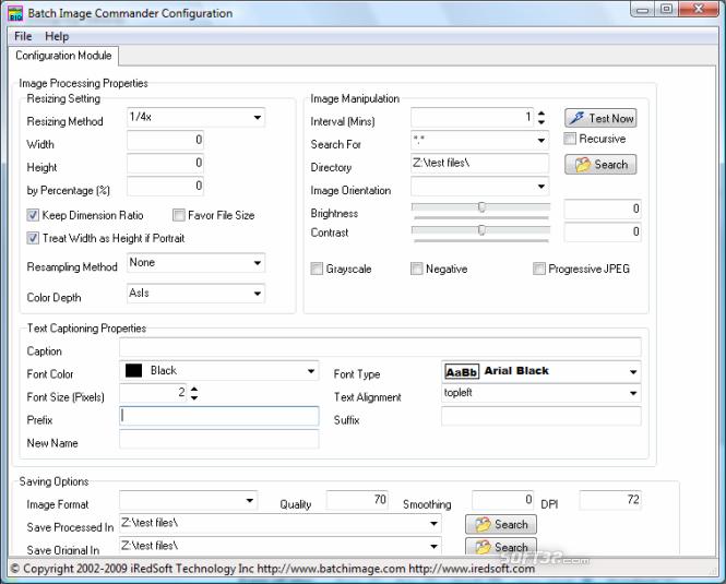 Batch Image Commander Screenshot 1