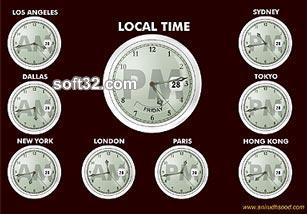 Global Clock Screensaver Screenshot 3