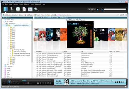 Helium Music Manager Screenshot 1