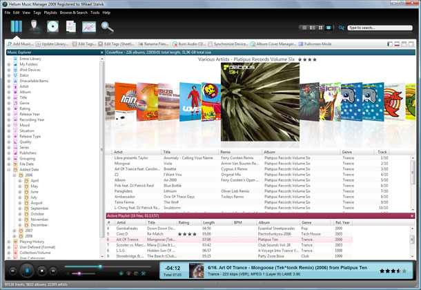 Helium Music Manager Screenshot 4