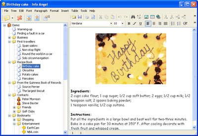 Info Angel Screenshot 1