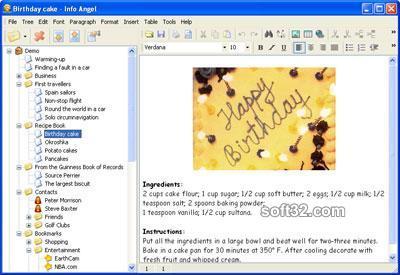 Info Angel Screenshot 2