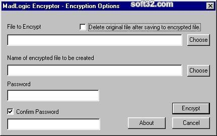 MadLogic Encryptor Screenshot 3