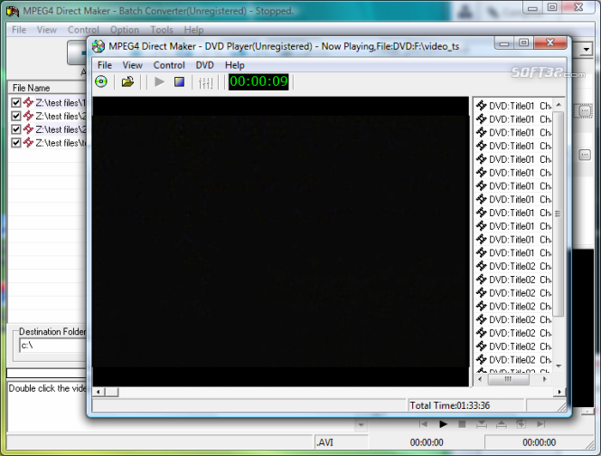 MPEG4 Direct Maker Screenshot 4