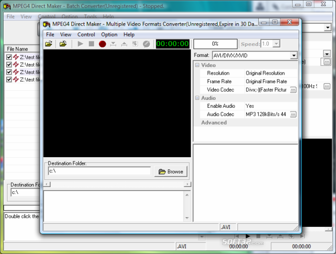 MPEG4 Direct Maker Screenshot 6