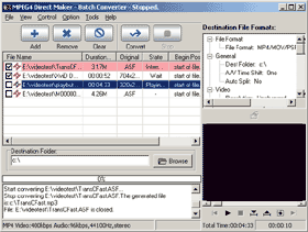 MPEG4 Direct Maker Screenshot 1