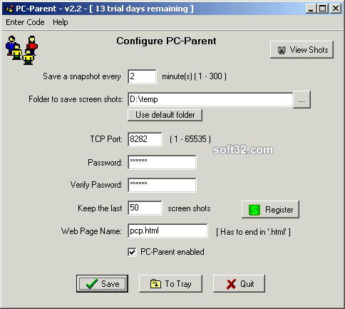PC-Parent Screenshot 1
