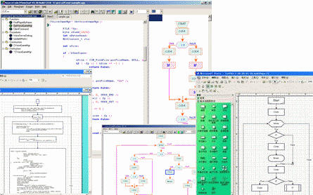 Code Visual to Flowchart Screenshot 1