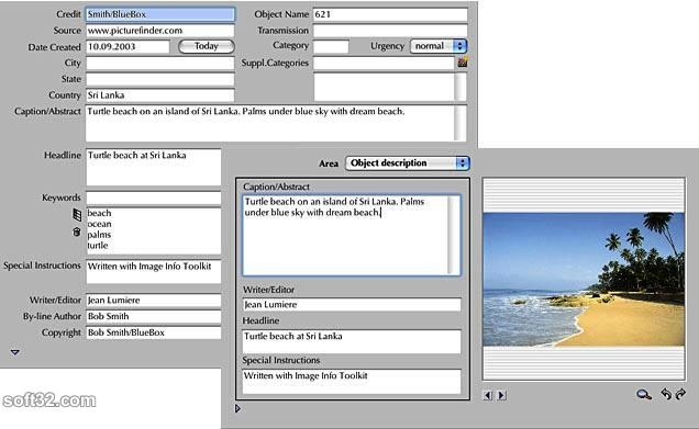 Image Info Toolkit Screenshot 1