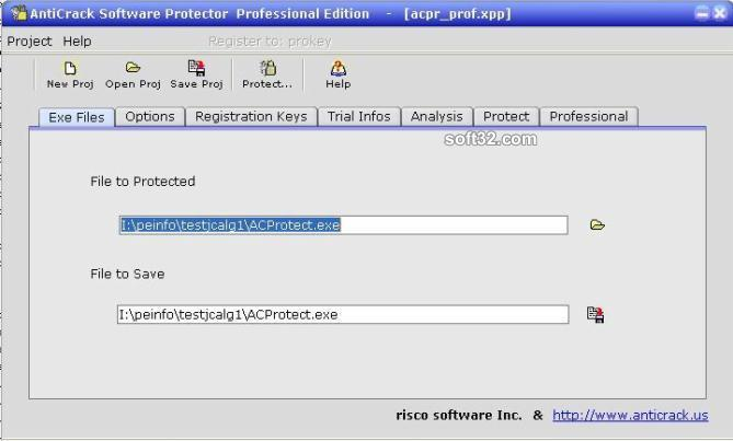ACProtect standard Screenshot 1