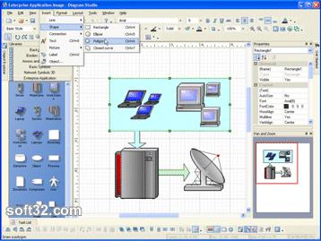 DiagramStudio Screenshot 2