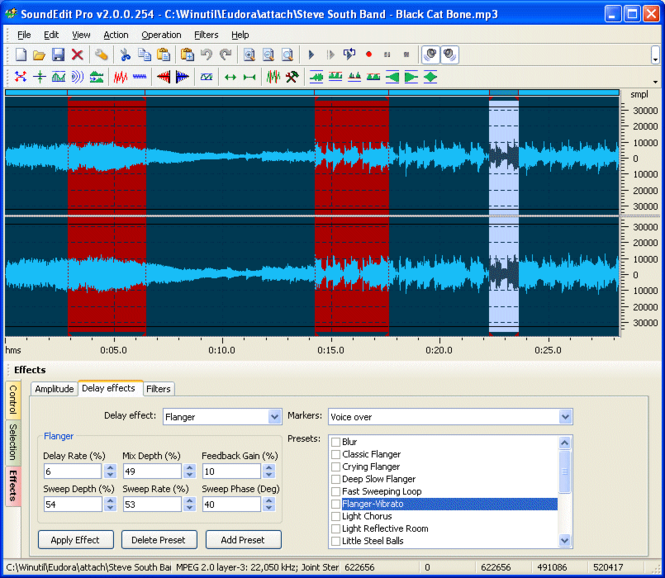 AudioWriter Screenshot