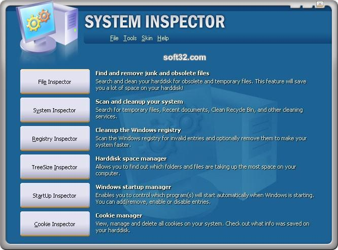 System Inspector Screenshot 2