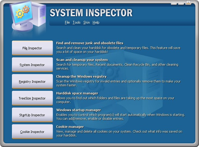 System Inspector Screenshot