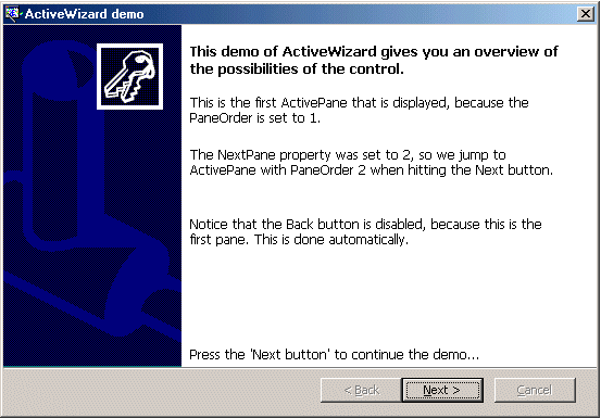 ActiveWizard Screenshot