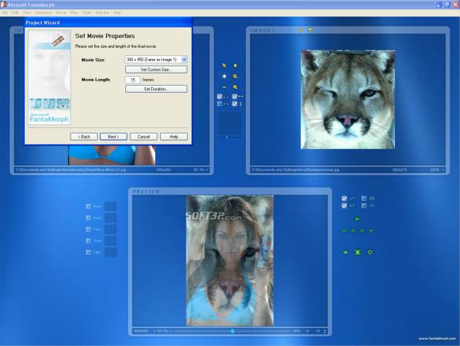 Abrosoft FantaMorph Pro Screenshot 3