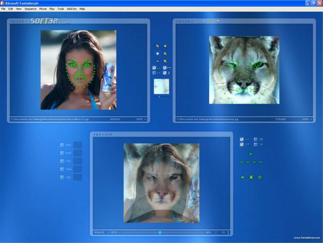 Abrosoft FantaMorph Pro Screenshot 5